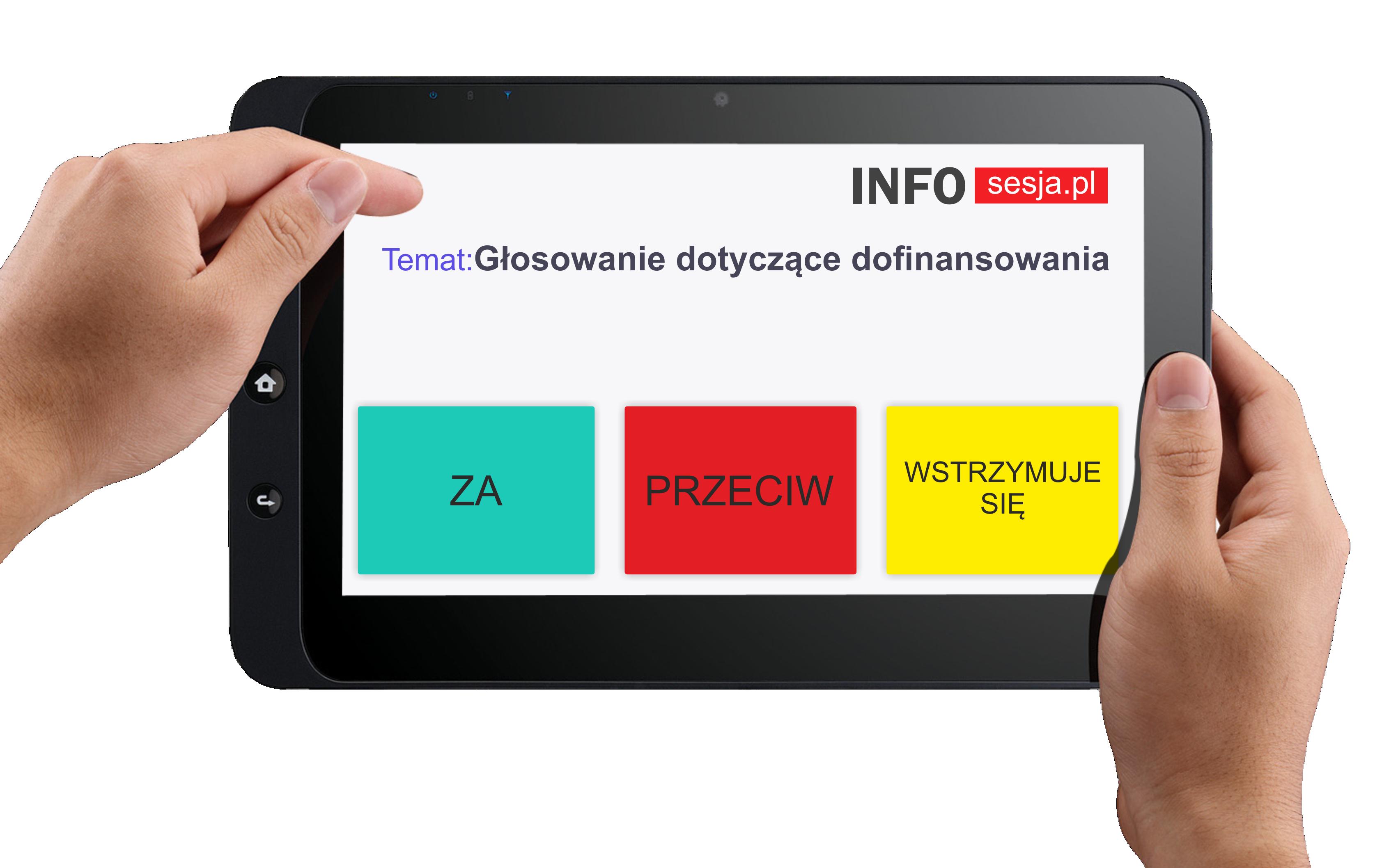 Wygodny system głosowania INFOsesja